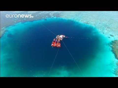 Un trou noir de 300 mètres de profondeur en mer de Chine