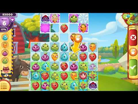 Farm Heroes Saga Level  1911 ~ Rancid