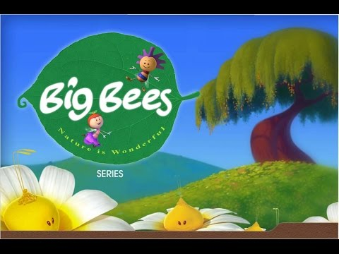 Big Bees All 40 Nursery Rhymes By Reliance Animation In HD