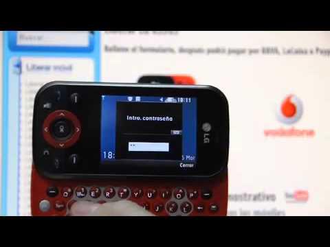 Liberar LG KS365, desbloquear LG KS365 de Vodafone Movical Net