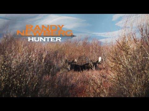 Montana Moose Hunt with Randy  hunter day