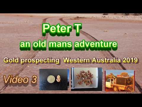 Gold Prospecting Western Australia 2019. Video 3