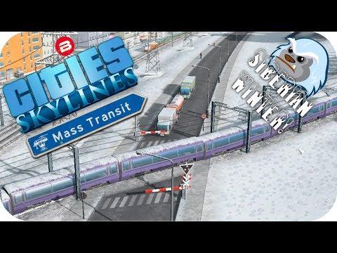 Cities Skylines Gameplay: TWEAKS & CHANGES! Cities Skylines MASS TRANSIT DLC SIBERIAN SCENARIO #4