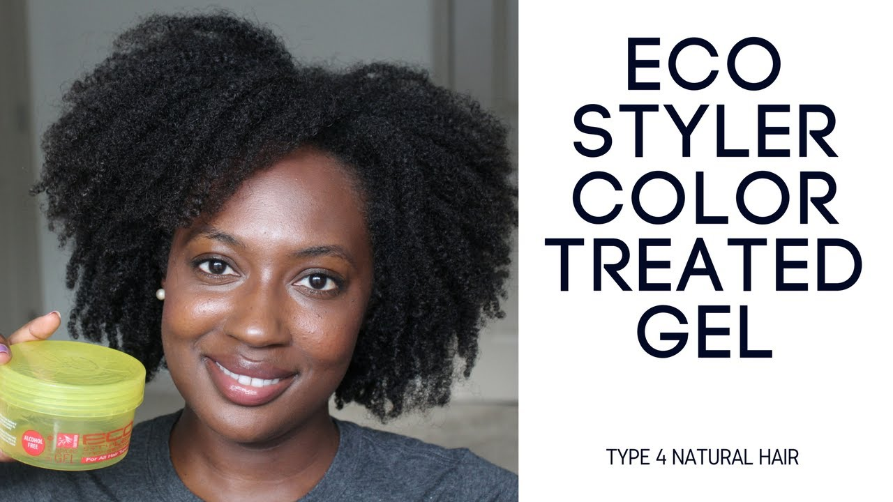 Eco Styler Color Treated Gel The Wash And Go Series Type 4 Hair