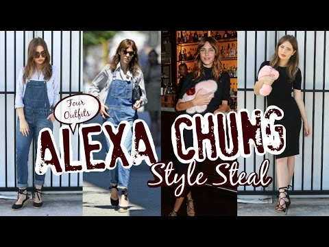 Style Steal Alexa Chung  Celebrity Look for Less Outfits