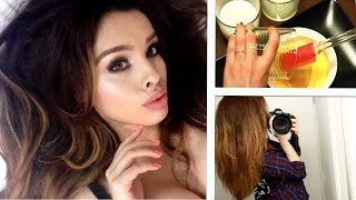 DIY Hair Mask for Frizzy, Damaged Hair & Faster Growth ♡