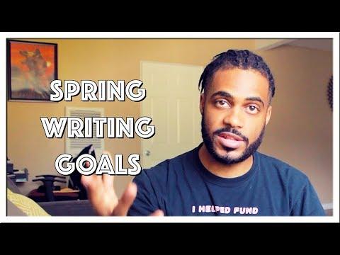 vlog-|-spring-writing-goals-2018