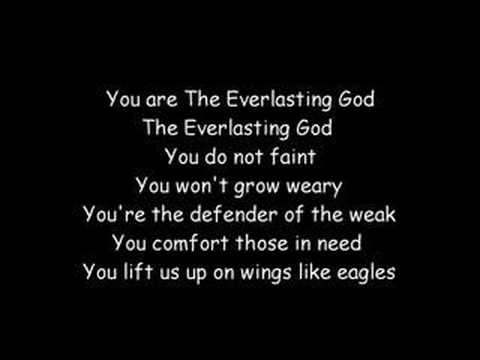 Everlasting God (with lyrics)
