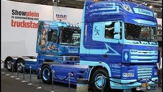 Sjouke Kingma New Truck Daf XF105 @ BedrijfsautoRAI 2012