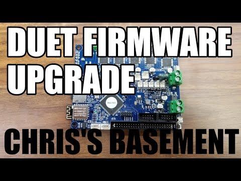 Duet Board Firmware Upgrade - How To - Chris's Basement