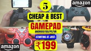 TOP 5 CHEAP & BEST GAMEPAD|Starting From Rs 199 only|Every Gamer Should Have One