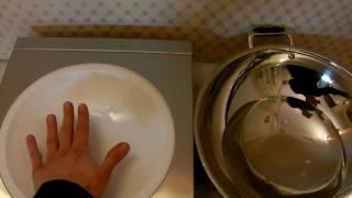 индукционный ВОК проверка работы hendi 3100 test wok induction hob