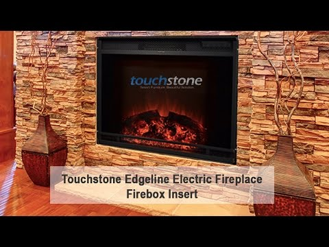The Edgeline - Touchstone's 28 Inch LED Electric Firebox Fireplace Insert - The Edgeline - Touchstone's 28 Inch LED Electric Firebox Fireplace