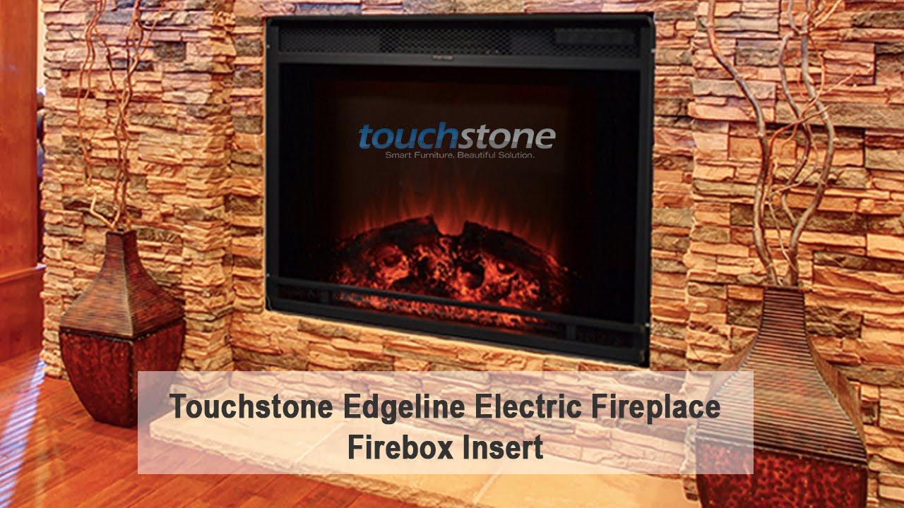 Touchstone Edgeline 28 Inch LED Electric Firebox Fireplace Insert ...