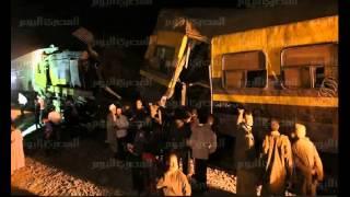 حادث قطار البدرشين 15-01 - 2013