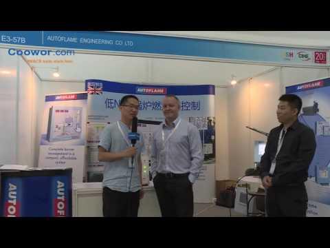 Autoflame in ISH Exhibition in Beijing