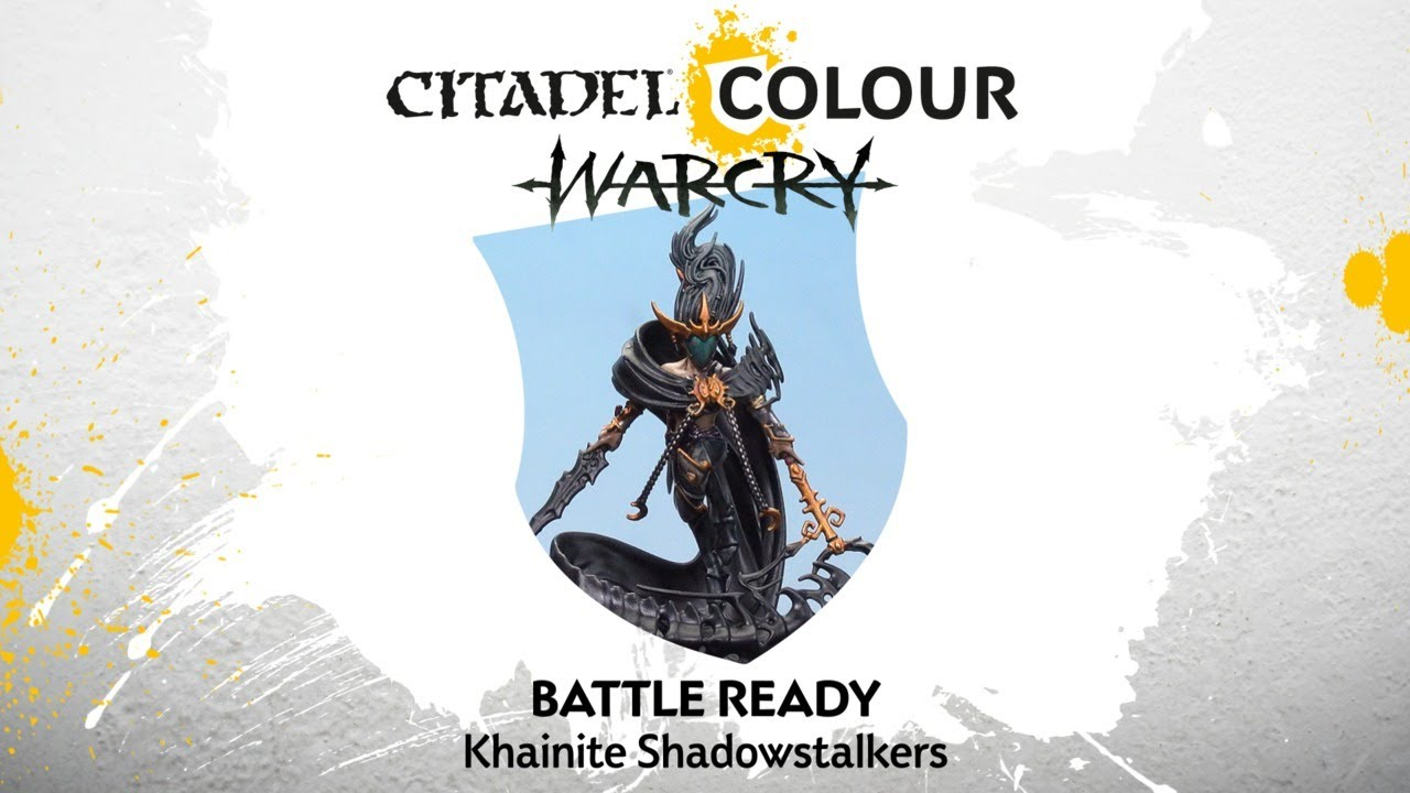 Warcry Catacombs Khainite Shadowstalkers Warhammer Khaine Dark Elves Age Sigmar