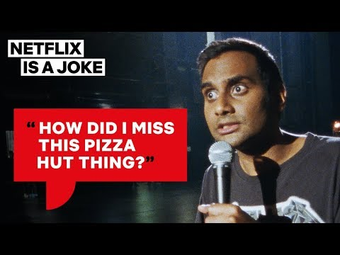 Aziz Ansari Clears Up the Pizza Swastika Story | Netflix Is A Joke