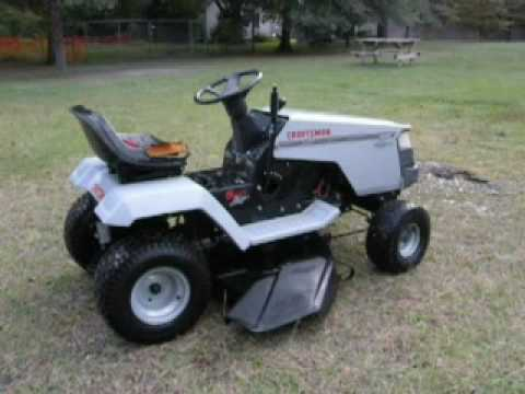 Craftsman Lawn Tractor Update Youtube