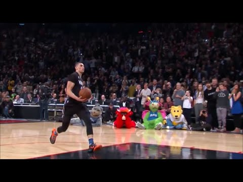 Zach Lavine vs Aaron Gordon - Dunk Contest 2016