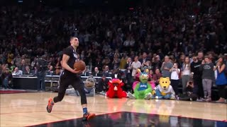 zach lavine vs aaron gordon dunk contest 2016
