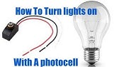 How to install a photocell on a spot light. - YouTube Photocell Wiring Diagram For Model on