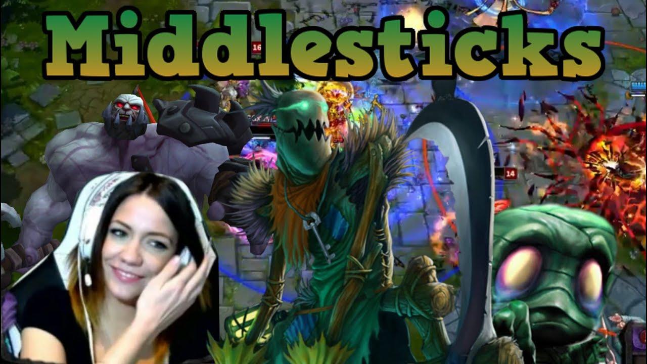 Những pha highlight Fiddlesticks đi Mid của KP người yêu Siv HD