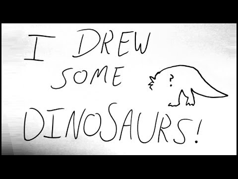 I Drew Some Dinosaurs! - Artist Highlight + Competition Prizes!