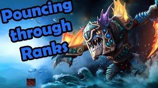 GORGC SLARK WITH SOME AEGIS SNATCHING (Gorgc Dota Highlights)