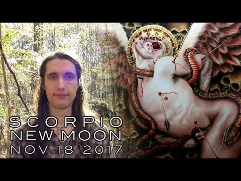 Scorpio New Moon, Nov 18th 2017 - Moths Falling Into Flames & Phoenix Arising from the Ashes