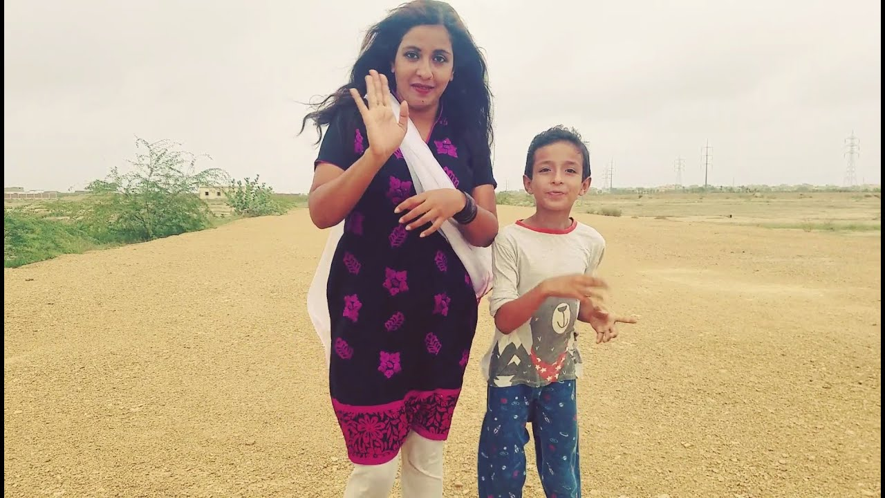 my outdoor shooting my son playing with me by noreen bhabi, wow Karachi