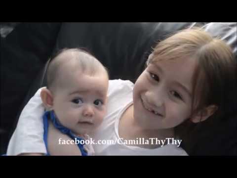 Camilla ThyThy và em gái LyLy của mình