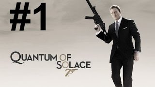 James Bond 007:Quantum of Solace Walkthrough Part 1: Blood Barrels