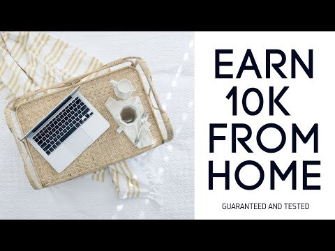 10k Per month work from home for everyone   Tested and Guaranteed