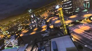 Grand Theft Auto V stupid helicopter flips