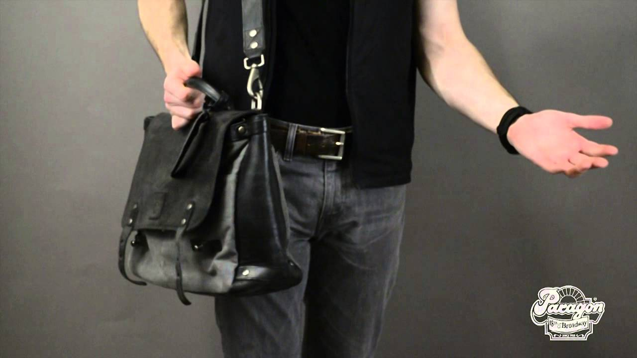 Will Leather Goods Envoy Messenger Bag - Paragon Sports NYC - YouTube c6fbc5b85