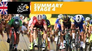 Summary - Stage 4 - Tour de France 2018