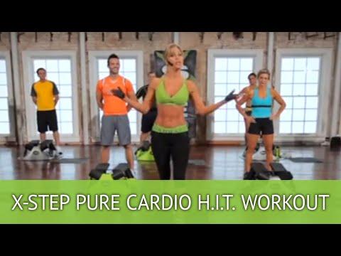 X-Step Pure Cardio H.I.T. Workout With Brenda DyGraf