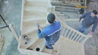 Столярыч производство деревянных лестниц.(, 2016-05-16T11:27:38.000Z)