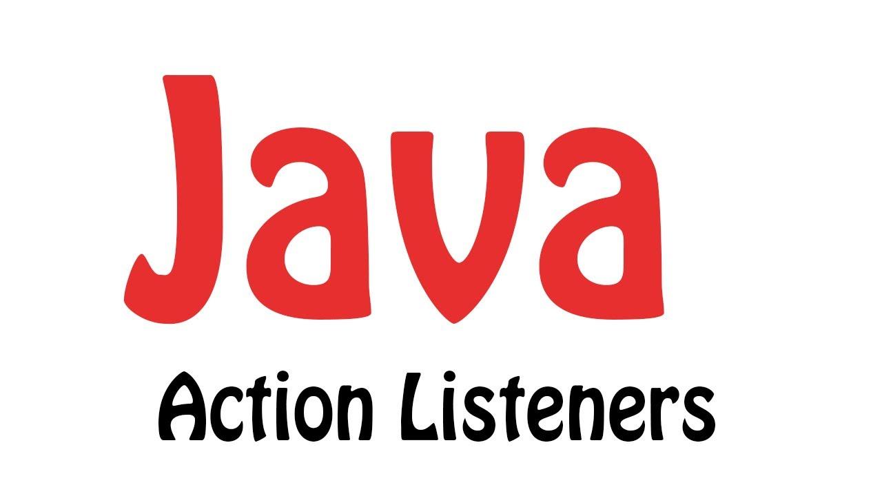 Java gui programming tutorial 32 action listeners youtube java gui programming tutorial 32 action listeners baditri Choice Image