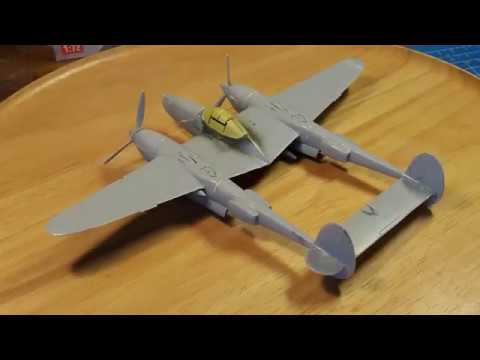 Full Build Airfix P 38 Lighting 1 72