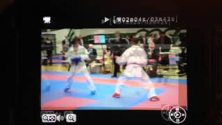 WWW DOWNVIDS NET Brian Hilliard   Karate   Kumite Highlights