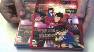 Unboxing Detective Conan Vs Lupin III by Animelicenciado Anime en Español