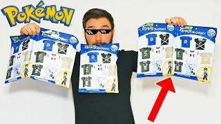 Ouverture de 5 Boosters Pokémon de T-SHIRT MEGA COOL POKEMON !