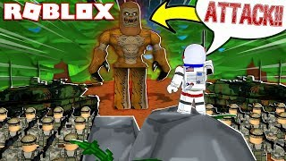 CREATING AN ARMY TO DEFEAT BIGFOOT!! - ROBLOX FINDING BIGFOOT