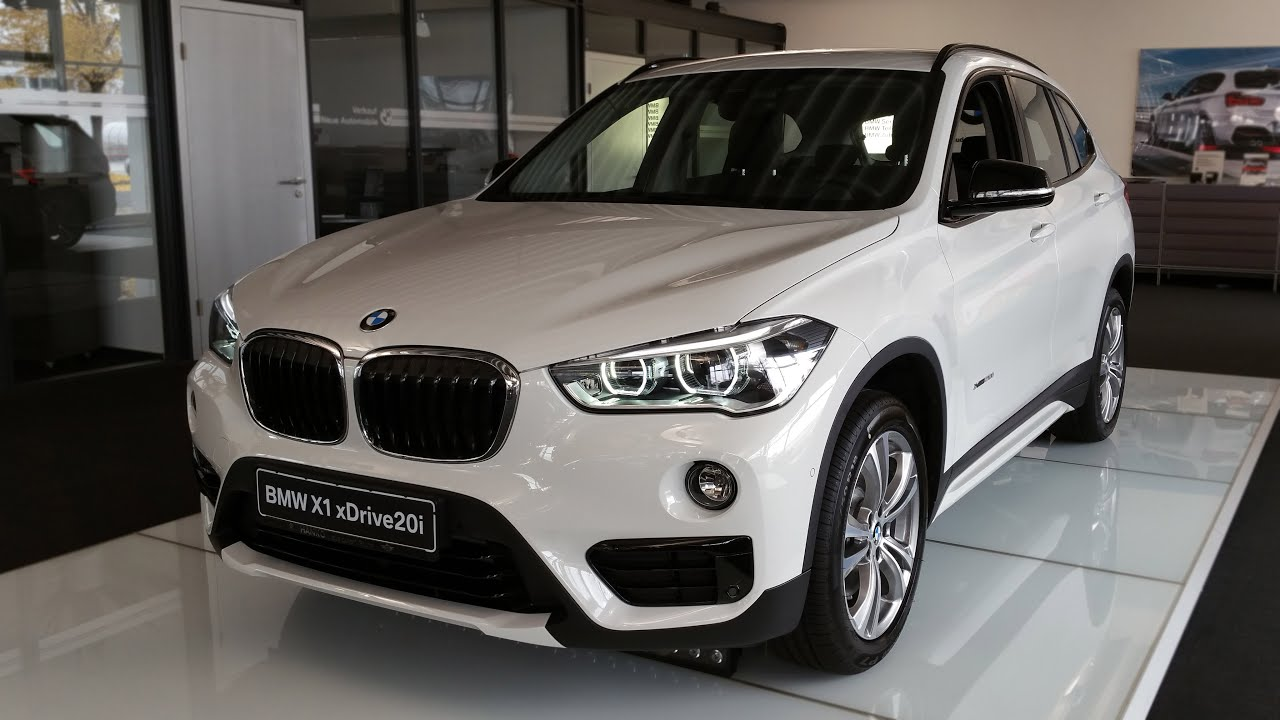 2016 bmw x1 xdrive20i sport line interior and exterior in. Black Bedroom Furniture Sets. Home Design Ideas
