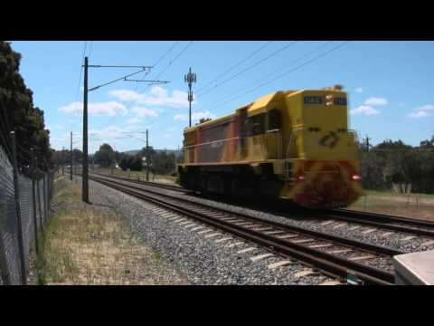 HD: Hotham Valley Railway, 100th anniversary troop train, Midland to Fremantle to North Dandalup