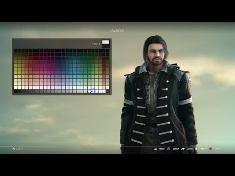 FINAL FANTASY XV: Comrades DLC - FULL Character Creation & Customization