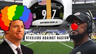 """Steelers Players Speak Out On Antwon Rose Sticker! 