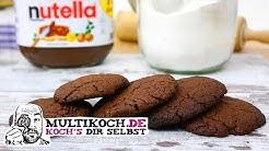 NUTELLA Kekse mit nur 3 Zutaten #Multikoch